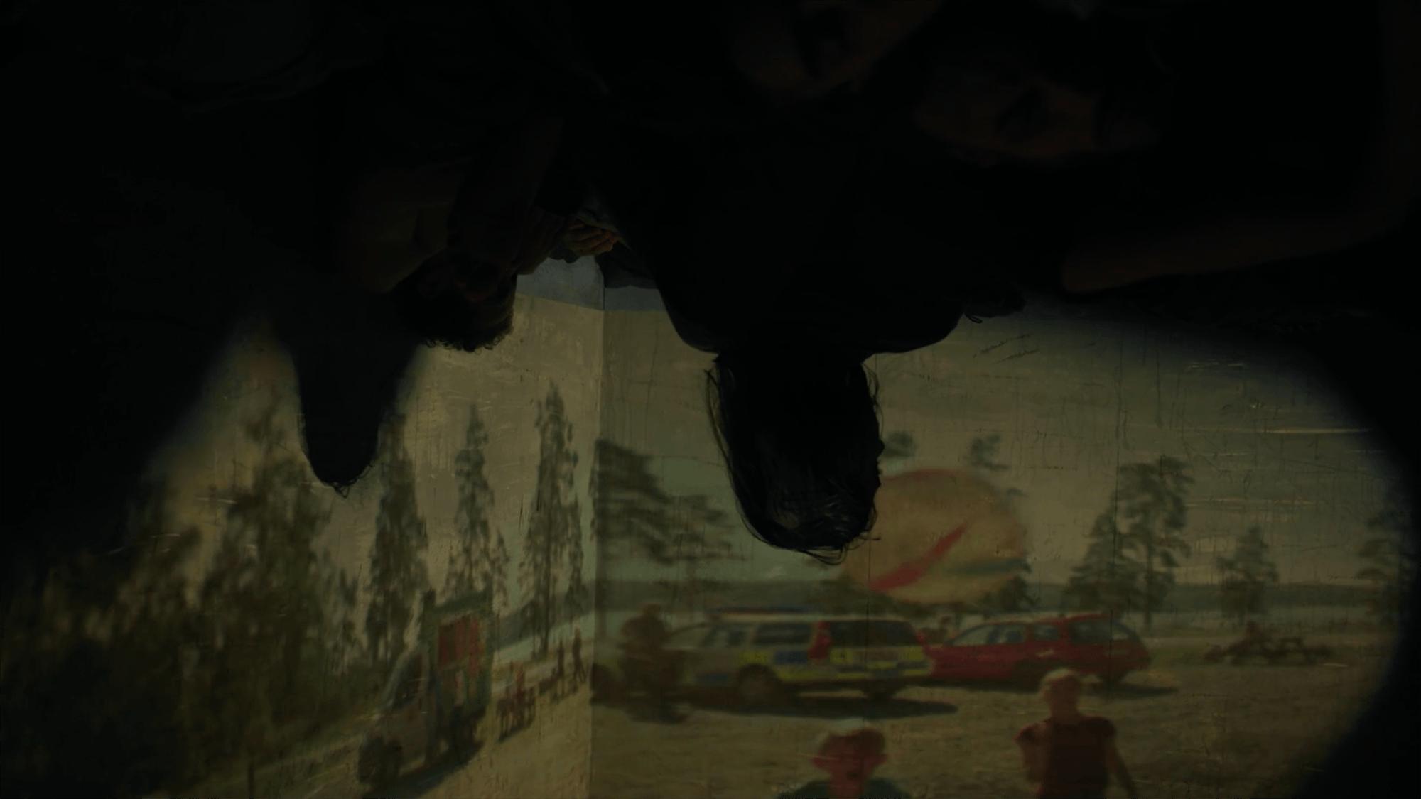Dark chamber center